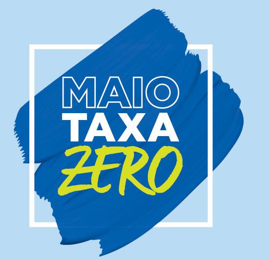 Maio taxa Zero